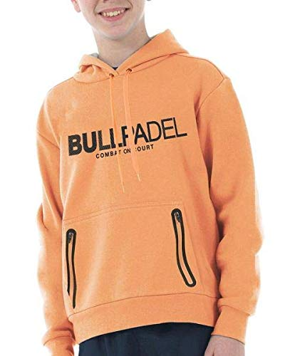 Bullpadel Sudadera ORTEX Junior Naranja Fluor: Amazon.es ...