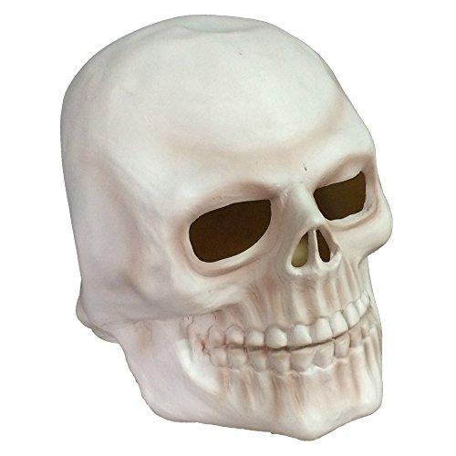 Human Skull Full Head Latex Mask for Halloween/Costume/Party/Easter/Back to school (Latex Masks Halloween)