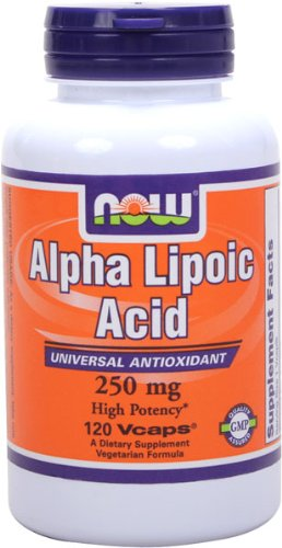 NOW Foods Alpha Lipoic Acid 250mg, 120 Vcaps, Health Care Stuffs