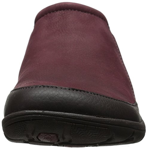 Merrell Petromus Moc Resbalón-en el zapato Deep Red/Espresso