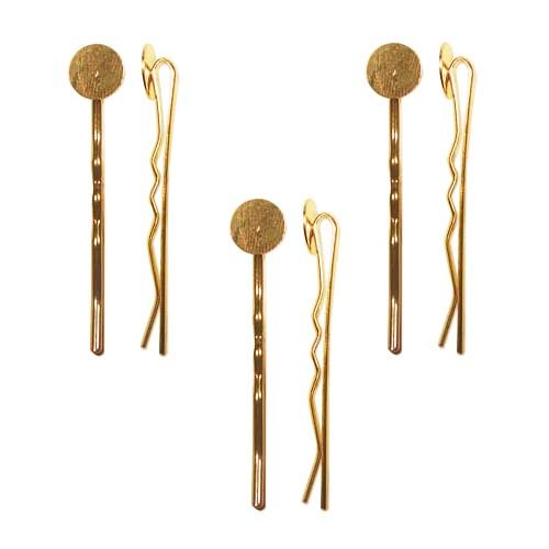bobby pins with pads - 8