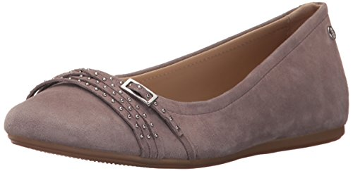 Hush Puppies Womens Haylee Heather Flat Taupe
