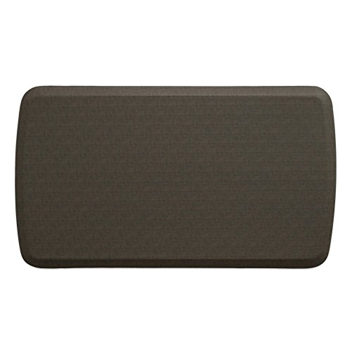 "GelPro Elite Premier Anti-Fatigue Kitchen Comfort Floor Mat, 20x36"", Linen Granite Gray Stain Resistant Surface with therapeutic gel and energy-return foam for health & wellness by GelPro"
