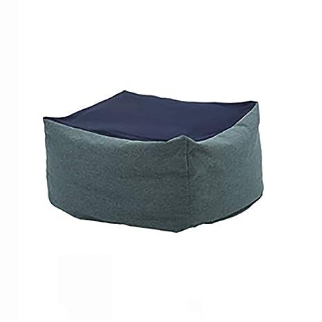 Amazon.com: Lazy Sofá puf silla suelo sofá sofá cama bahía ...