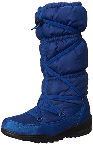 Kamik Women's Luxembourg Insulated Winter Boot, Cobalt, 10 M (Blue Fleece Winter Boots)