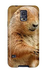Flexible Tpu Back Case Cover For Galaxy S5 - Amazing Prairie Dog S