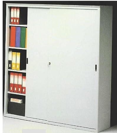 Armadio Metallico Ufficio.Ideapiu Idea Armadi Metallici Per Ufficio Armadio Metallico Porte Scorrevoli Cm 150 Lungh X 45 Prof X 200 H