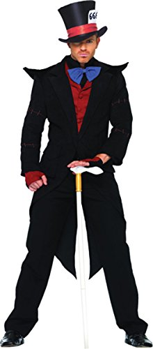 Evil Mad Hatter Costumes (Evil Mad Hatter Costume - X-Large - Chest Size 53)