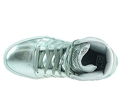 adidas Neo Label BBNEO HITOP X Silver Women Sneakers Shoes