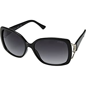 GUESS Factory Women's Logo Plastic Sunglasses