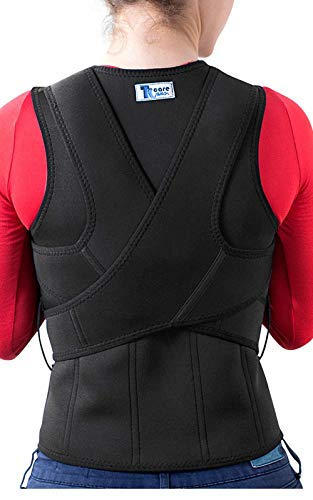 (The Ultimate Posture Corrector for Women & Men Under Clothes   Effective & Comfortable   Back Brace for Slouching & Hunching -Shoulders Clavicle Support   Upper & Lower Back Supports   Body Therapy)