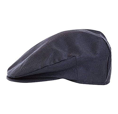 - Hanna Hats Men's Vintage Irish Cap Linen (Navy, Large)