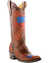 NCAA SMU Mustangs Womens 13-Inch Gameday Boots