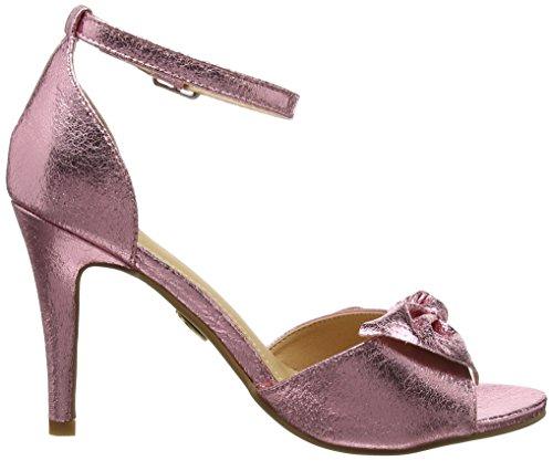 pink Pu Para 01 Lh Met Pulsera Rosa Sandalia Con 317039 129 Buffalo Mujer pqPxI