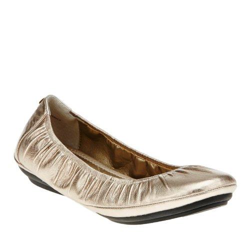 Anche Io, Donna Fiore Ballet Flat Gravel