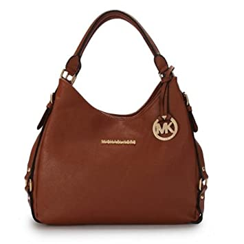441ca905b27a Amazon.com   Michael kors bags Bolsas femininas handbag Fashion Bags Totes  women bags coin purse luxury new MK bags (brown)   Beauty