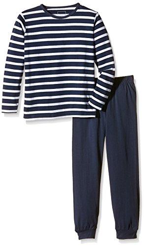 NAME IT Baby-Jungen Zweiteiliger Schlafanzug NITNIGHTSET K B NOOS, Gestreift, Gr. 110, Mehrfarbig (Dress Blues)
