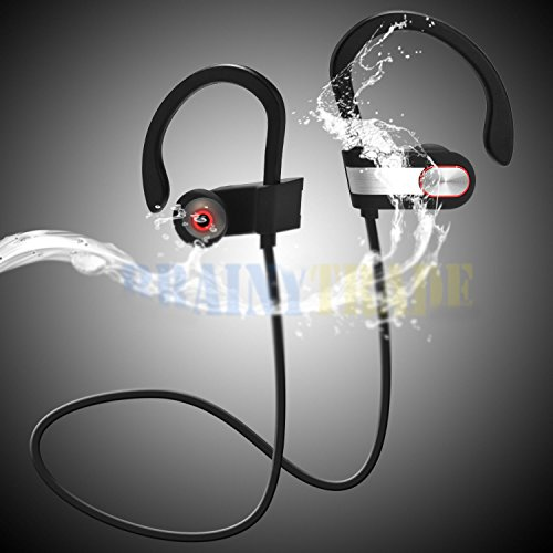 PiggiesC Waterproof Bluetooth Earbuds Beats Sports Wireless Headphones in Ear - Beats Sport Earbuds