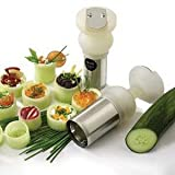 Eurodib Stainless Steel Turnup Vegetable Cutter, 5 3/4 x 1 3/4 inch -- 1 each. review