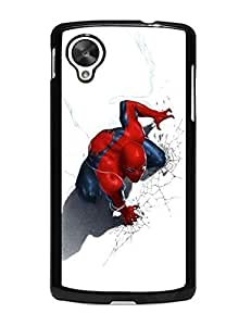 Iron Man Iphone Case's Shop New Style 4019681M355815195 Artistic Spiderman Theme Uncommon Design LG Nexus 5 Solid Case Cover
