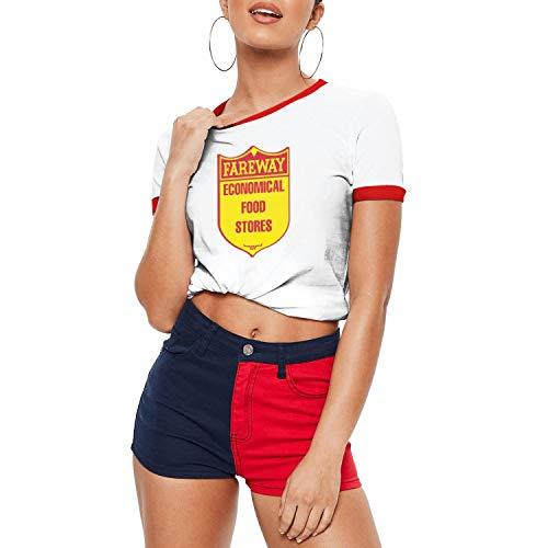 zoyozoyu Risk of Salmonella with Chicken Salad from Fareway Grocery Stores Women's Short Sleeve Tee Shirt PrintingFashion Shirts Moisture Wicking
