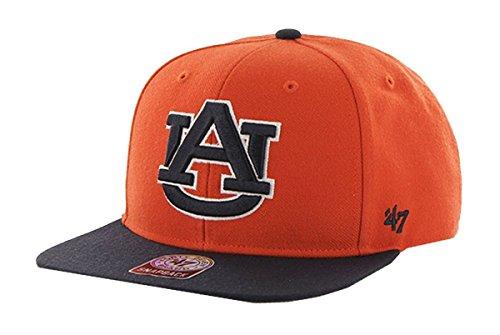 '47 Brand Auburn Tigers Sure Shot Captain Wool Hat (Auburn Tigers Wool)