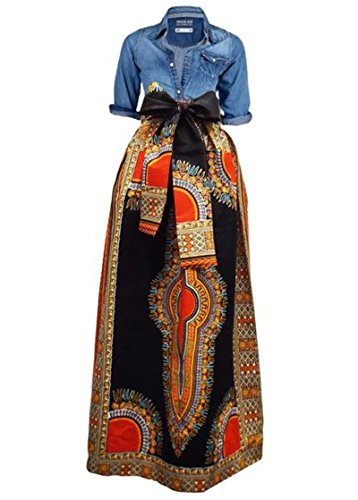 long african print dresses - 8