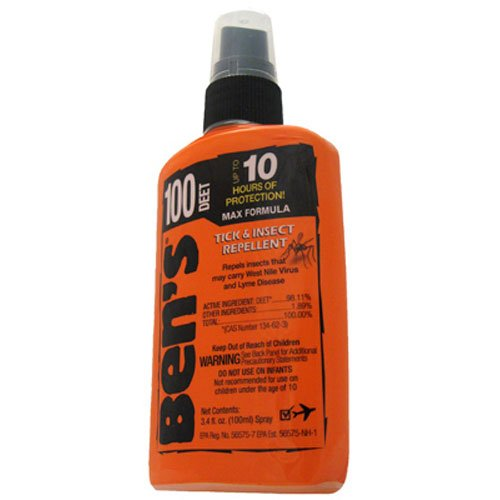 Ben's 100% DEET Mosquito/Insect Repellent is how to keep bugs away while camping and avoid mosquitoes, flies and other insects