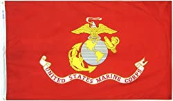 A variety of colors were carried by the United States Marine Corps troops from the Revolution onward. Their designs varied. The emblem of the Corps, consisting of a globe placed over an anchor and bearing at the top an eagle, has been in use from at ...
