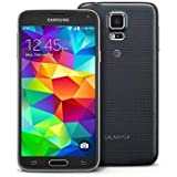 Samsung Galaxy S5 G900A 16GB Unlocked GSM 4G LTE Quad-Core Smartphone 16MP Camera (Renewed) (Black)