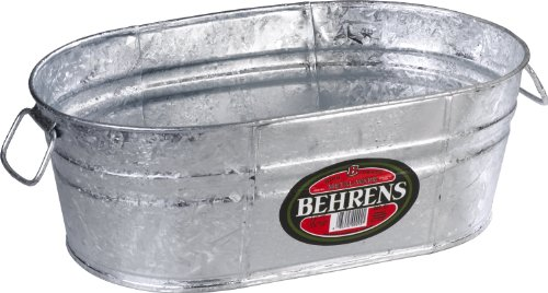 Behrens Oval Steel Tub