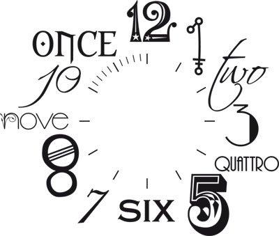 Vinilo de pared: Decoración de pared con reloj número internacional Para el salón la oficina (reloj=Negro//Color=070 Negro): Amazon.es: Hogar