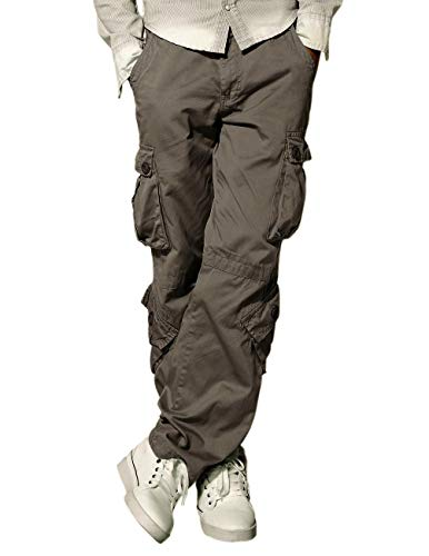 Match Men's Cargo Pants(38,3358 Grayish Green)