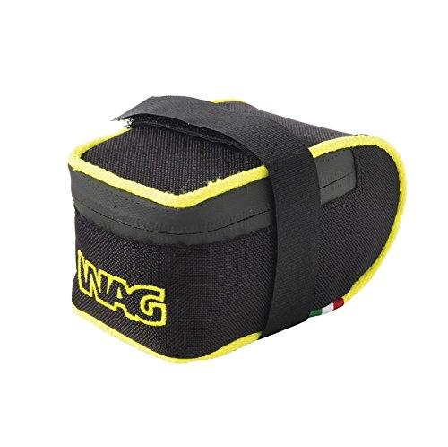 Wag Satteltasche MTB Cordura kratzfest schwarz gelb fluo (Taschen Schabracke)/Saddle Bag MTB Cordura Anti-Scratch Black Neon Yellow (Wing Case)