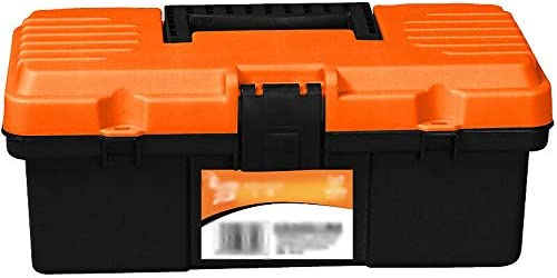 ChenCheng 工具収納ボックス - 家庭用小型収納ボックス12インチツールボックス車の携帯用収納ボックス修理工具収納ボックス ツールボックスストレージと組織 (Size : 30cmX15cmX12.5cm)