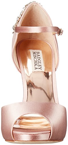 Badgley Mischka Womens Dawn Dress Sandalo Blush
