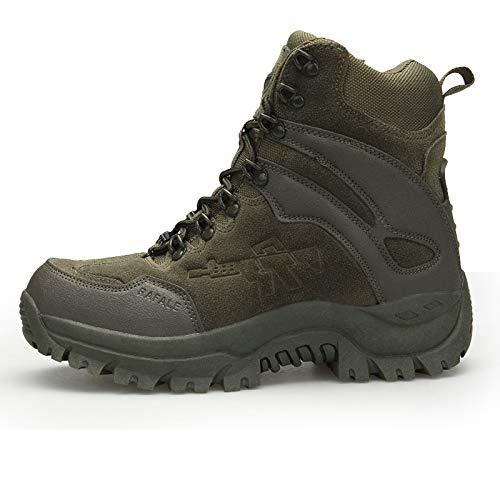 HCBYJ Schuhe Outdoor-Wanderschuhe für Militärfreunde Outdoor-Wanderschuhe für Taktische Wüstenschuhe für Militärschuhe