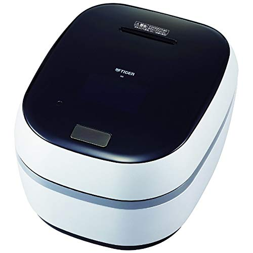 TIGER Earthen Pot Pressure IH Jar Rice Cooker THE TAKITATE THE freshly cooked GRAND X JPG-X100-WF Frost White Japan Domestic genuine products