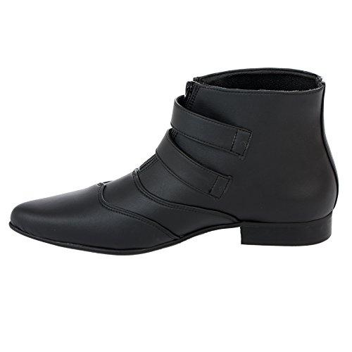 Boots & Braces , Mocassins pour homme noir Schwarz