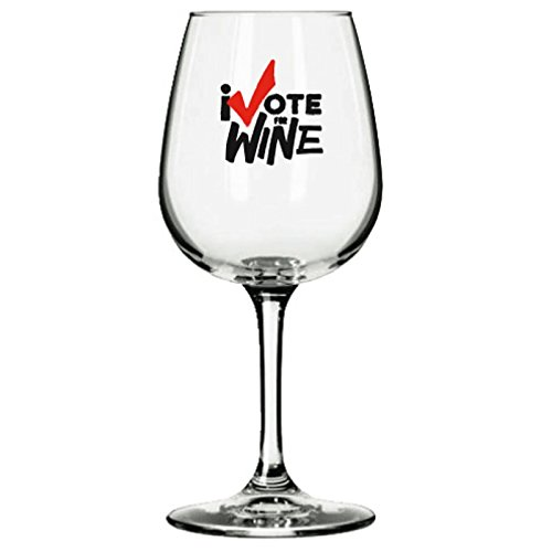 I Vote for Wine Novelty Fun Wine Glass 13 Oz