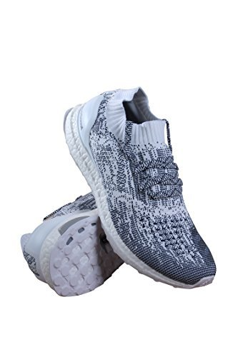e73f84111e111 Galleon - Adidas Ultra Boost Uncaged Non Dye White Oreo BA9616 US Size 9.5