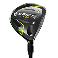 The new Epic Flash Sub Zero fairway wood combines our groundbreaking new Flash Face Technology with precision shot-shaping technology for high swing speed players. We used Artificial Intelligence (A. I. ) and Machine Learning to develop Flash...