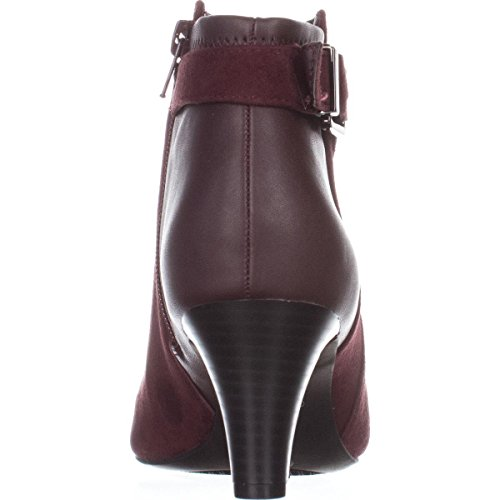 Mulberry Boots Toe Viollet Womens Leather Fashion Closed Ankle Alfani xZq80fwg