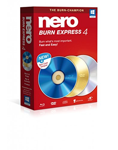 Nero Burn Express Version 4 (Burning Dvd Software)