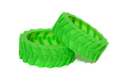 Sphero Ollie Monster Tires - Green - Designed for Traction By Hexnub