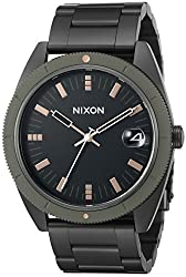 Nixon Men's A359-1530 Rover SSII Matte Black and Industrial Green Watch