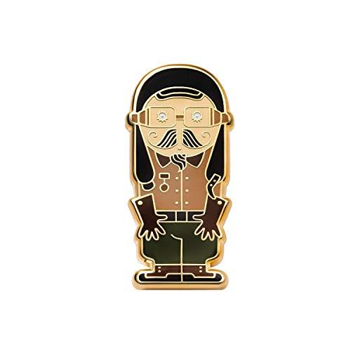 Asilda Store Lapel Enamel Pin [with Deluxe Pin Lock] (Asilda World. Aviator)