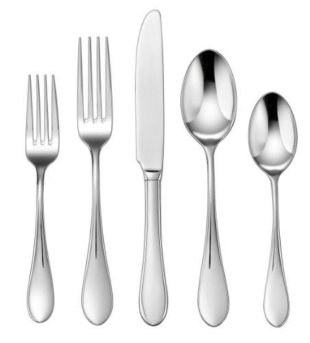 Cuisinart CF-01-I20 20-Piece Flatware Set, - Stainless Cuisinart Flatware
