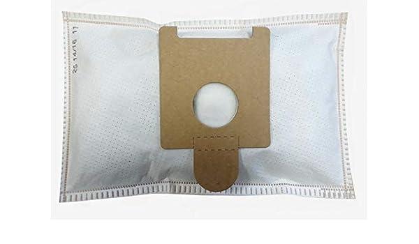 Bolsa para aspiradora Moulinex Powerpack, BQ1, BQ2, BQ3, Effimax, DJ1, DJ5, bolsa de 5 bolsas de microfibra: Amazon.es: Hogar
