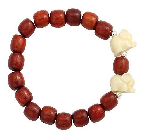 Cherry Beads Bracelet Resin Elephant product image